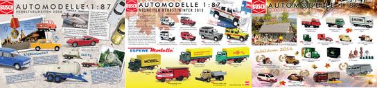 Modellbahnen Busch Neuheitenprospekt 2020 Modellwelten Automodelle