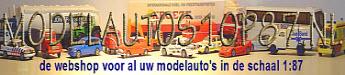 Modelautos1op87